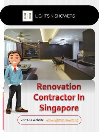 Renovation Package Singapore