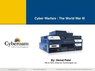 Cyber Warfare : The World War III