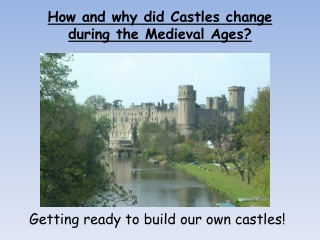 How did Castle Design Change