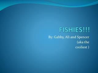 FISHIES!!!