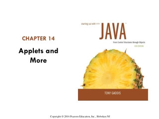 Java GUI - A Brief Introduction