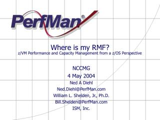 Where is my RMF? z/VM Performance and Capacity Management from a z/OS Perspective