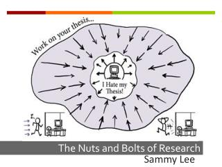 The Nuts and Bolts of Research