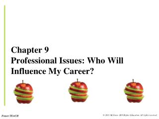 Chapter 9 Professional Issues: Who Will Influence My Career?