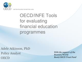 OECD/INFE Tools for evaluating financial education programmes