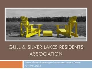 Gull & Silver Lakes Residents Association