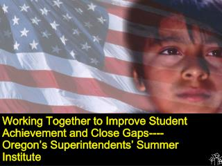 Working Together to Improve Student Achievement and Close Gaps----