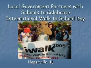 Local Government Partners with Schools to Celebrate International Walk to School Day