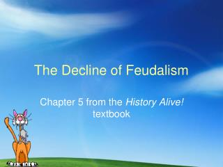 decline of feudalism essay The decline of feudalism occurred in the late middle ages many different things such as the black plague, changes in warfare, and increasing power of nobility caused the decline of feudalism.