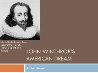 John Winthrop's American Dream