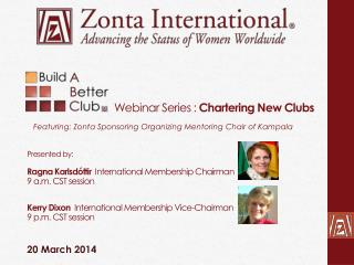 Webinar Series :  Chartering New Clubs