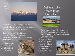 India with Heaven 4 U