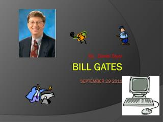 Bill gates September 29 2011