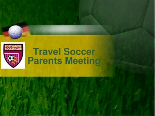 Travel Soccer Parents Meeting