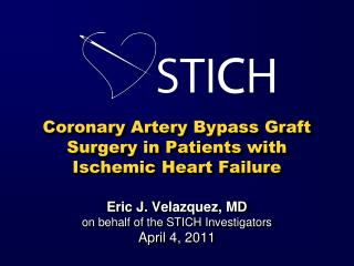 Coronary Artery Bypass Graft Surgery in Patients with Ischemic Heart Failure