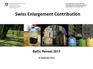 Swiss Enlargement Contribution