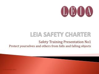 LEIA SAFETY CHARTER