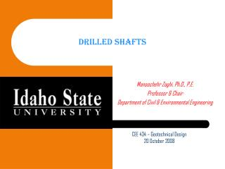 Drilled Shafts