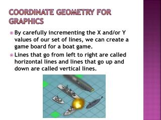 Coordinate Geometry for Graphics