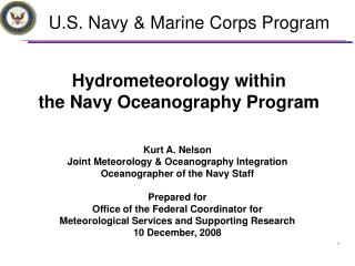 U.S. Navy & Marine Corps Program