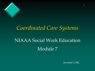Coordinated Care Systems
