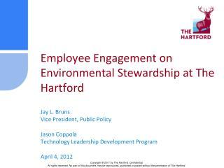 Employee Engagement on Environmental Stewardship at The Hartford
