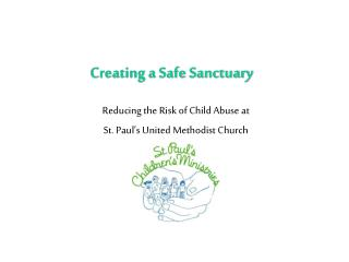 Creating a Safe Sanctuary