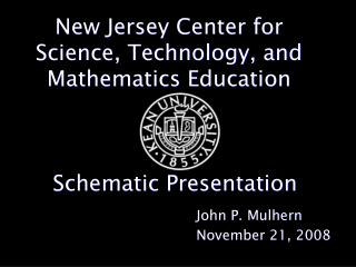 New Jersey Center for Science, Technology, and Mathematics Education