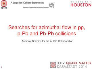 Searches for azimuthal flow in  pp , p- Pb  and  Pb-Pb  collisions