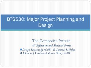 BTS530: Major Project Planning and Design