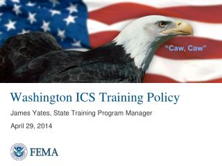 Washington ICS Training Policy