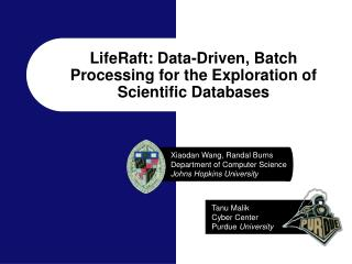 LifeRaft: Data-Driven, Batch Processing for the Exploration of Scientific Databases