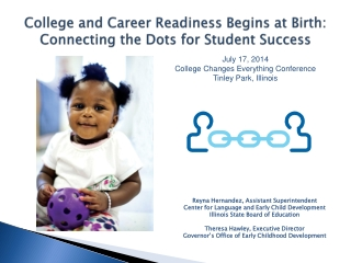 College and Career Readiness Begins at Birth: Connecting the Dots for Student Success