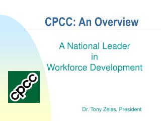CPCC: An Overview