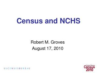 Census and NCHS