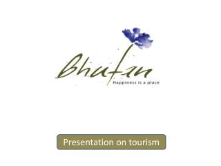 Presentation on tourism