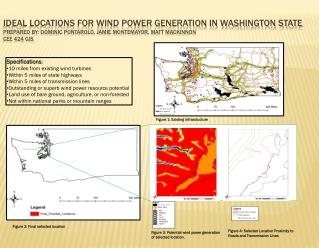 Specifications : 10 miles from existing wind turbines Within 5 miles of state highways