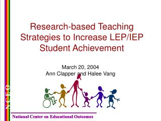 Research-based Teaching Strategies to Increase LEP/IEP Student Achievement