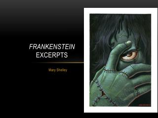 Frankenstein  excerpts