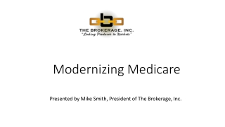 Strategies and Models to Increase Performance  Quality:  Medicare Special Needs Plans