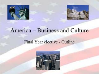 America – Business and Culture