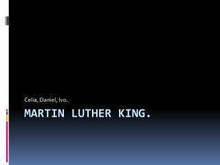 Martin Luther King (religión)
