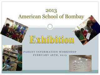 2013 American School of Bombay