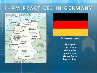 IHRM PRACTICES IN GERMANY