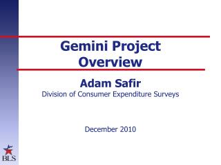 Gemini Project  Overview