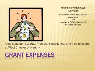 Grant expenses