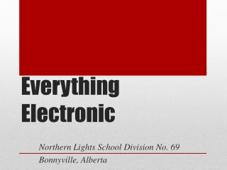 Everything Electronic