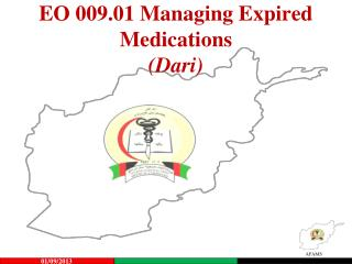 EO 009.01 Managing Expired Medications (Dari)
