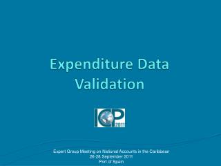 Expenditure Data Validation
