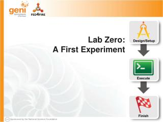 Lab Zero: A First  Experiment